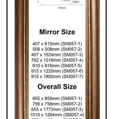 Custom Made Up Mirrors - Classic & Modern Styles